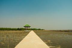 Paviljongen på havet Royaltyfria Foton
