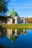 Paviljonggrotta i Kuskovo Royaltyfri Bild