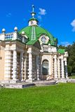 Paviljonggrotta i Kuskovo fotografering för bildbyråer
