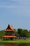 paviljongsamutprakarn thai thailand Arkivbilder