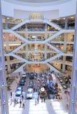 PAVILJONGshoppinggalleria Kuala Lumpur Royaltyfri Fotografi