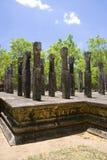 Pavillion at Alahana Parivena, Sri Lanka. Image of the Pavillion at Alahana Parivena, Polonnaruwa, Sri Lanka. Built by King Parakramabahu the Great (1153-1186) Royalty Free Stock Image