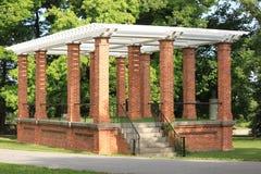 Pavillion. Beautiful historic brick pavillion at Gettysburg Royalty Free Stock Images