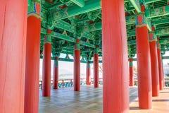 Pavillion. Colorfull pavillion in gyeongju korea Stock Photo