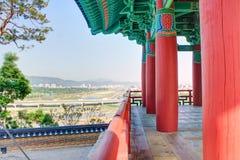 Pavillion. Colorfull pavillion in gyeongju korea Stock Photos