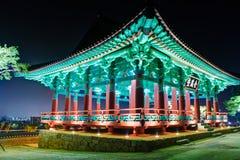 Pavillion. Colorfull pavillion in gyeongju korea Stock Image