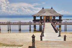 Pavillion de Bali Images libres de droits