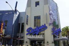 Pavillion de Dodgers Photographie stock