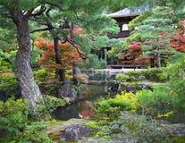 Pavillion de prata Ginkakuji em Kyoto Imagens de Stock Royalty Free