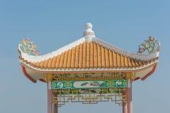 Pavillion del estilo chino imágenes de archivo libres de regalías