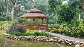 Pavillion del giardino Fotografie Stock