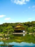 Pavillion dell'oro di Kinkakuji a Kyoto Fotografie Stock
