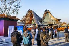 Pavillion della Cina all'Expo Milano 2015 immagini stock