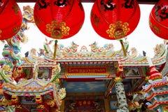 Pavillion der chinesischen Art stockfotografie