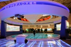 Pavillion der Deyang Stadt auf WCIF 2012 Lizenzfreie Stockfotos