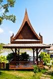 Pavillion di legno. Immagine Stock Libera da Diritti