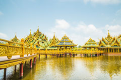 Pavillion of the Enlightened, Ancient City, Samutprakarn. Pavillion of the Enlightened, Ancient City, Samutprakarn,Thailand Stock Photography