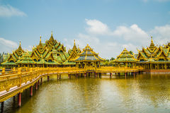 Pavillion of the Enlightened, Ancient City. Pavillion of the Enlightened, Ancient City, Samutprakarn,Thailand Royalty Free Stock Image