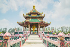 Pavillion of the Enlightened, Ancient City. Royalty Free Stock Photo