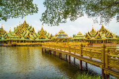 Pavillion of the Enlightened, Ancient City. Stock Photography