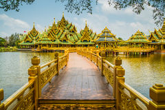 Pavillion of the Enlightened, Ancient City. Royalty Free Stock Photography