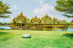 Pavillion of the Enlightened, Ancient City. Pavillion of the Enlightened, Ancient City, Samutprakarn,Thailand Stock Photos