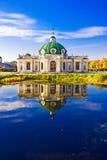 Pavillion-Grotte in Kuskovo Lizenzfreies Stockbild