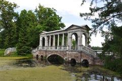 Pavillion i parkera Arkivbilder
