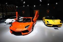 Pavillion Italien-Lamborghini stockfotos