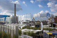 Pavillion Kazakistan на экспо 2015 Стоковая Фотография