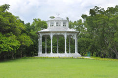 Pavillion no parque Imagem de Stock