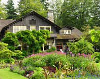 The Pavillion in the Rose Garden Stanley Park Vancouver Stock Photography