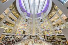 Pavillion shoppinggalleria Arkivbilder