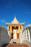 The pavillion at the temple Royalty Free Stock Images