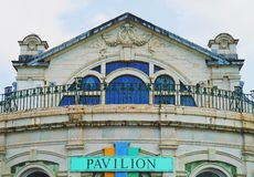 The Pavillion at Torquay. Used by Agatha Christie years ago Royalty Free Stock Photo