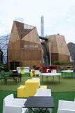 Pavillion van België Expo Milaan 2015 Royalty-vrije Stock Fotografie