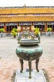 Pavillion viejo, complejo de Hue Monuments en tonalidad, sitio del patrimonio mundial, Vietnam Foto de archivo libre de regalías