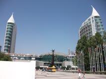 Pavillions της EXPO '98 στην Πορτογαλία Στοκ φωτογραφία με δικαίωμα ελεύθερης χρήσης