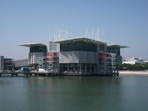 Pavillions of Expo '98 in Portugal Stock Images