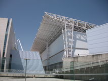 Pavillions of Expo '98 in Portugal Royalty Free Stock Photography