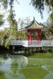 Pavillon à de nouveaux territoires Hong Kong Photo stock