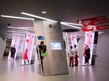 pavillon 2010 de l'Allemagne d'expo de Changhaï Photos stock