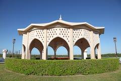 Pavillon am alten corniche in Abu Dhabi Lizenzfreies Stockbild