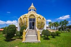 Pavillon (argent de père saint de la BO de batte) Wat Yang Khoi Kluea chez Phichit Thaïlande Photographie stock libre de droits