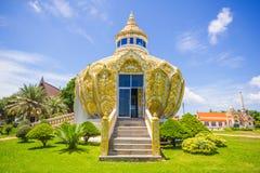Pavillon (argent de père saint de la BO de batte) Wat Yang Khoi Kluea chez Phichit Thaïlande Images libres de droits