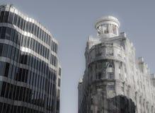 Pavillon auf Gebäude Lizenzfreie Stockfotos