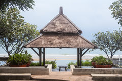 Pavillon on the beach Royalty Free Stock Images