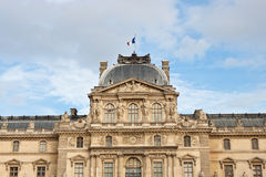 Pavillon befläcker av Louvremuseum Royaltyfri Foto