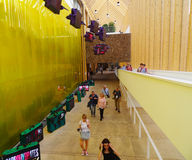 Pavillon BRITANNIQUE, expo 2015, Milan Photographie stock
