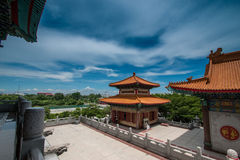 Pavillon chinois en Thaïlande photographie stock